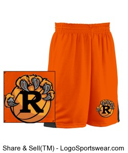 Youth Turnaround Reversible Basketball Short Design Zoom